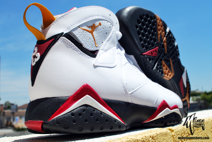 buy online 249e4 16e44 Air Jordan Cardinal 7's…Who's Coppin? | FLYY WITH 2 Y's